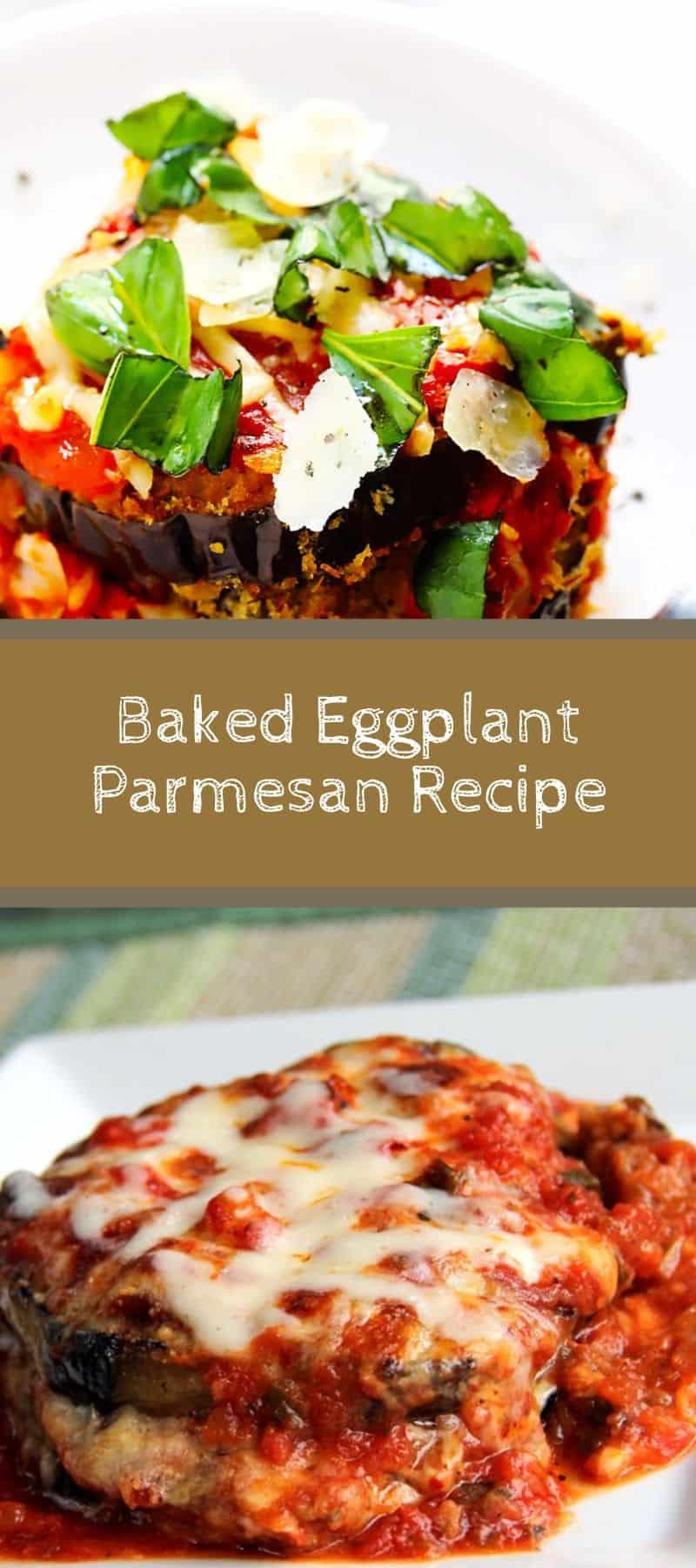 Baked Eggplant Parmesan Recipe 3
