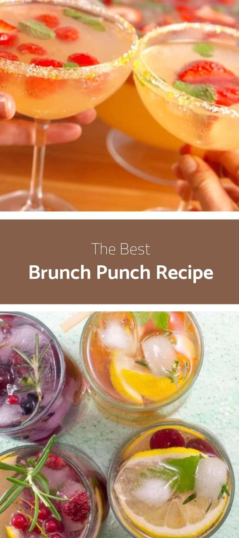 Best Brunch Punch Recipe