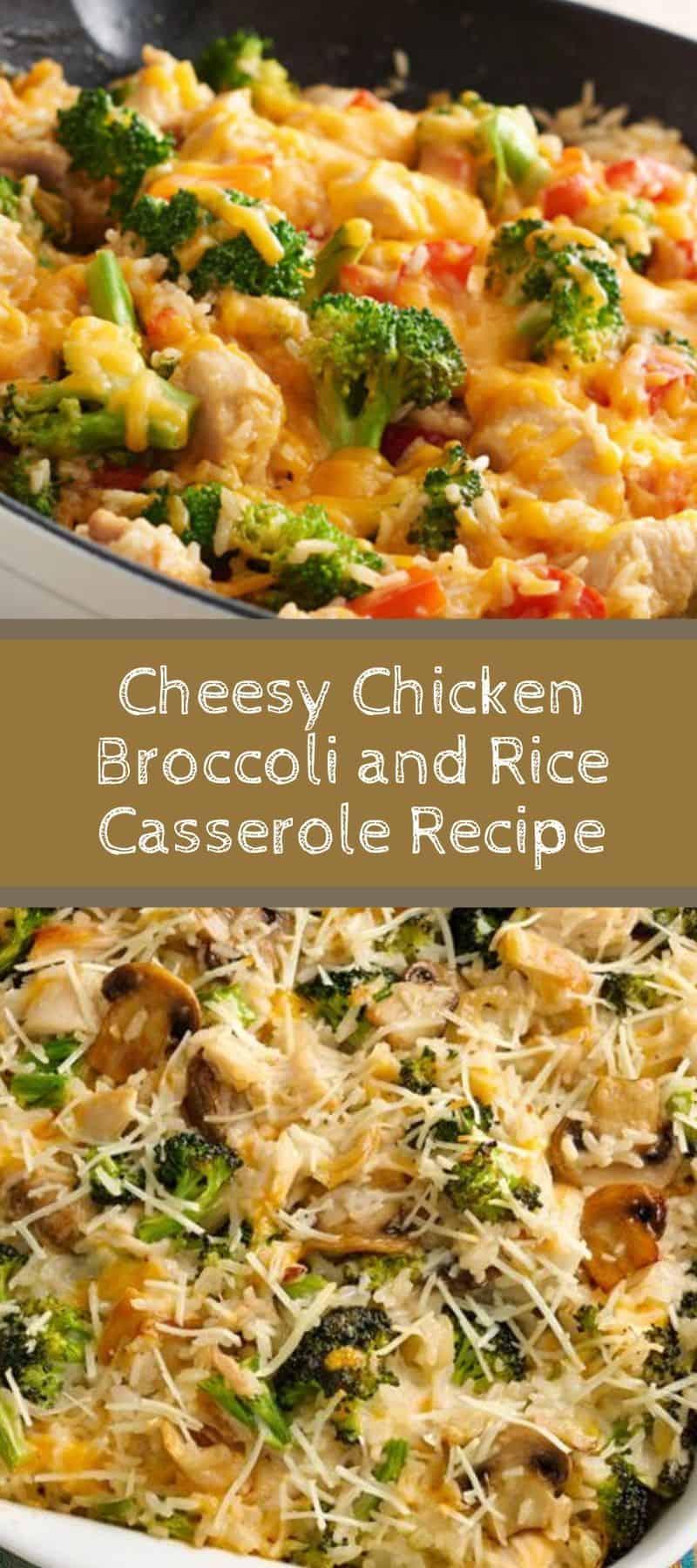 Cheesy Chicken Broccoli and Rice Casserole Recipe 3