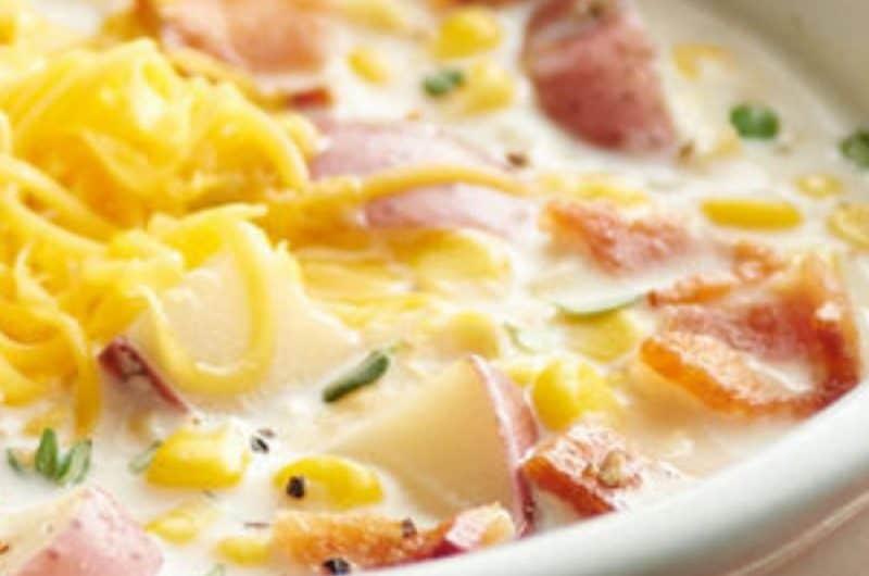 Creamy Chicken Corn Chowder Soup
