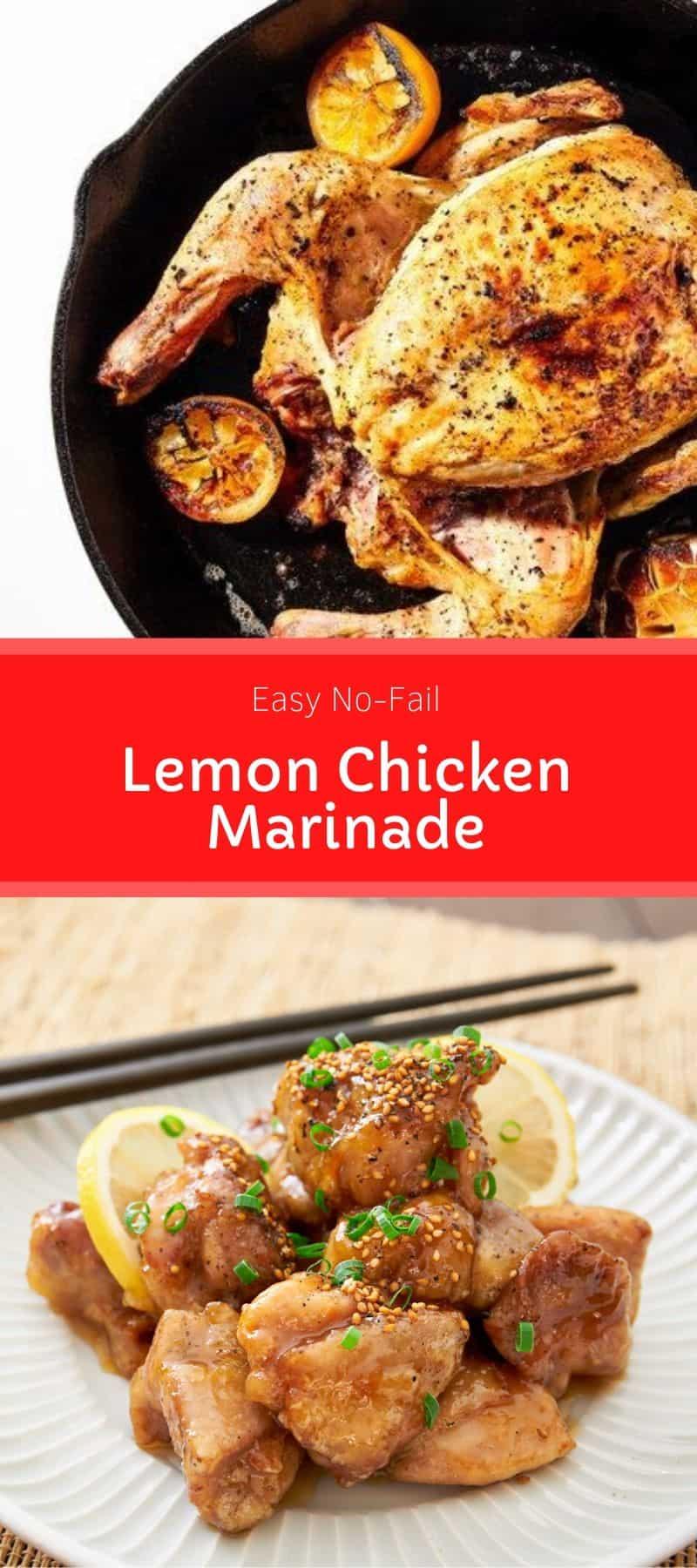 Easy No-Fail Lemon Chicken Marinade 3