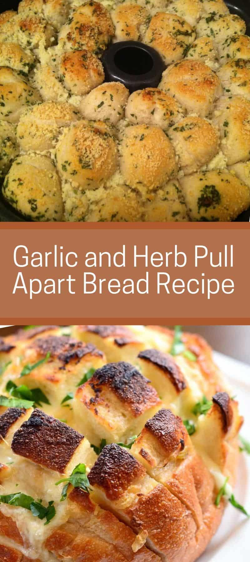 Garlic and Herb Pull Apart Bread Recipe 3