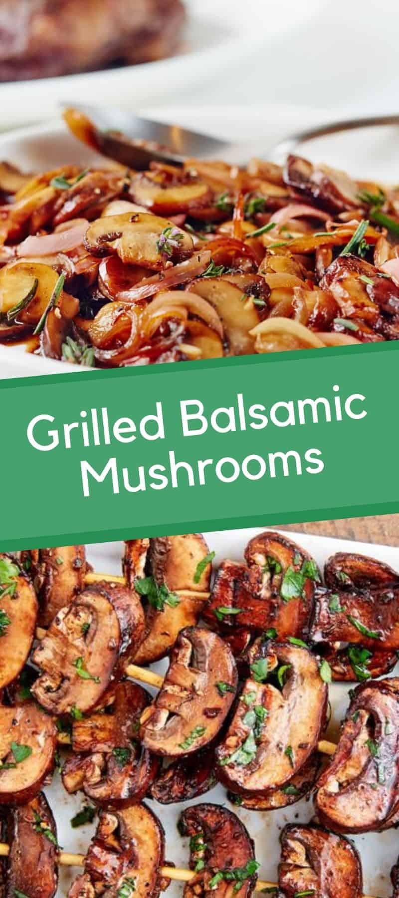 Grilled Balsamic Mushrooms Recipe