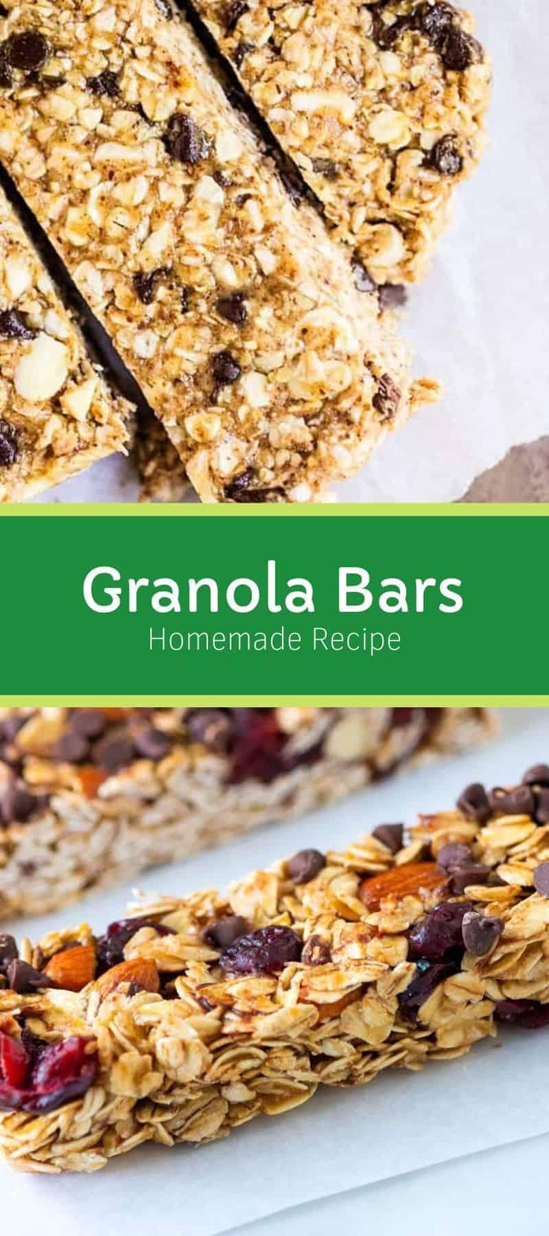 Homemade Granola Bars Recipe 3