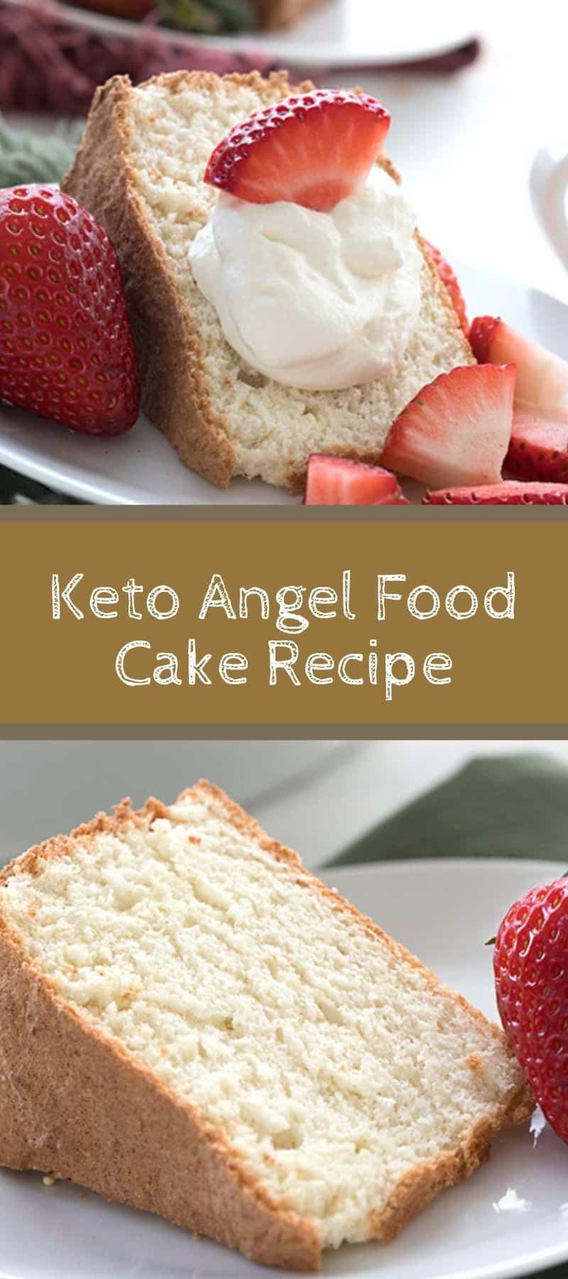 Keto Angel Food Cake Recipe 3