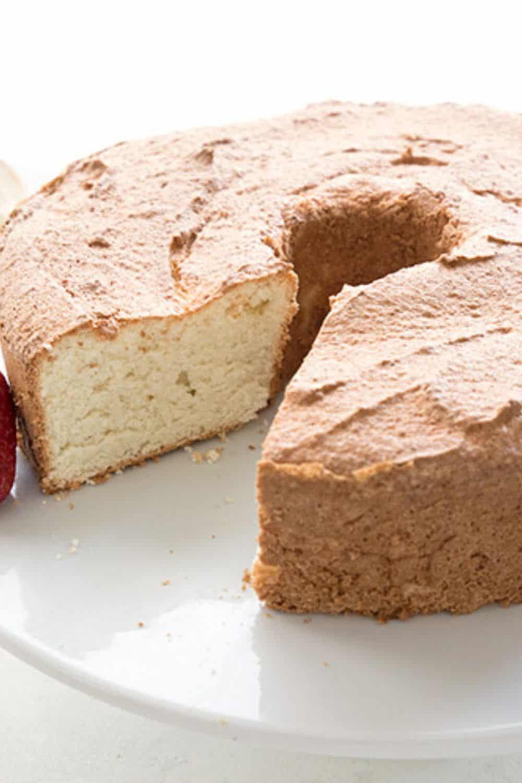 Keto Angel Food Cake Recipe - Grandma Linda's Recipes
