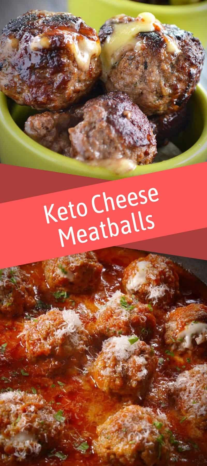 Keto Cheese Meatballs Recipe 3