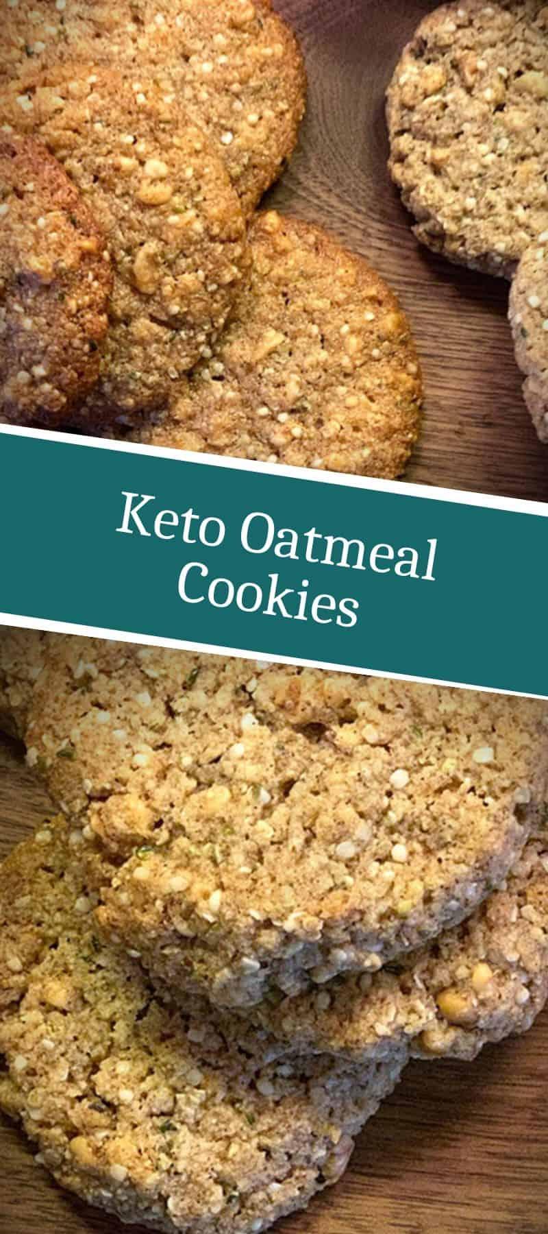 Keto Oatmeal Cookies 3