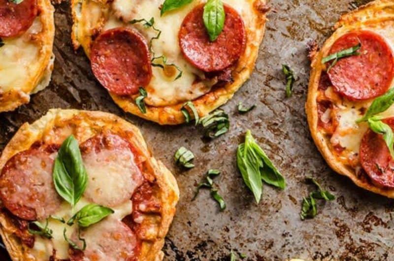 Keto Pizza Chips Snack Recipe