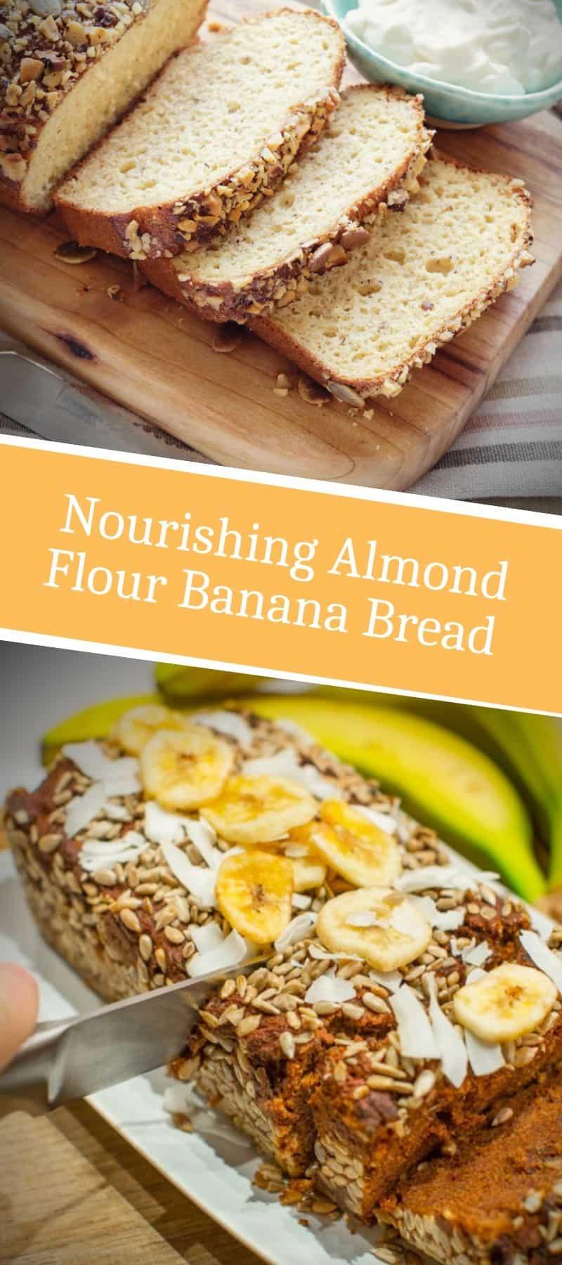 Nourishing Almond Flour Banana Bread Recipe 3