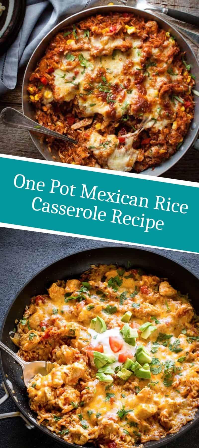 One Pot Mexican Rice Casserole Recipe 3