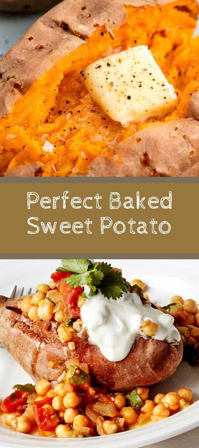 Perfect Baked Sweet Potato Recipe 3