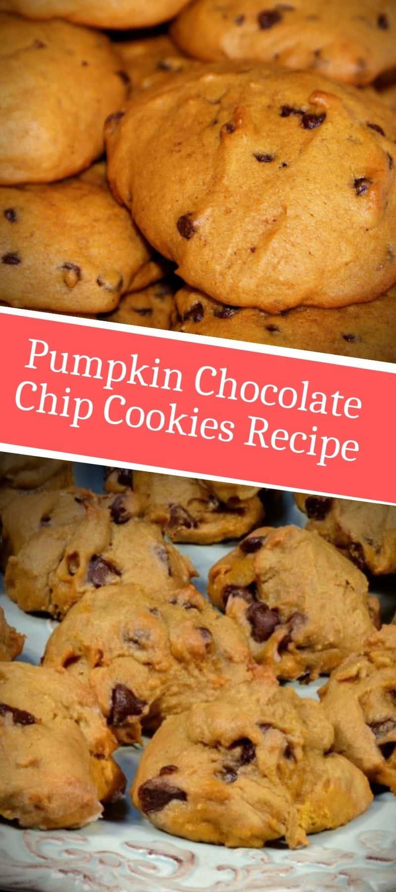 Pumpkin Chocolate Chip Cookies Recipe 3