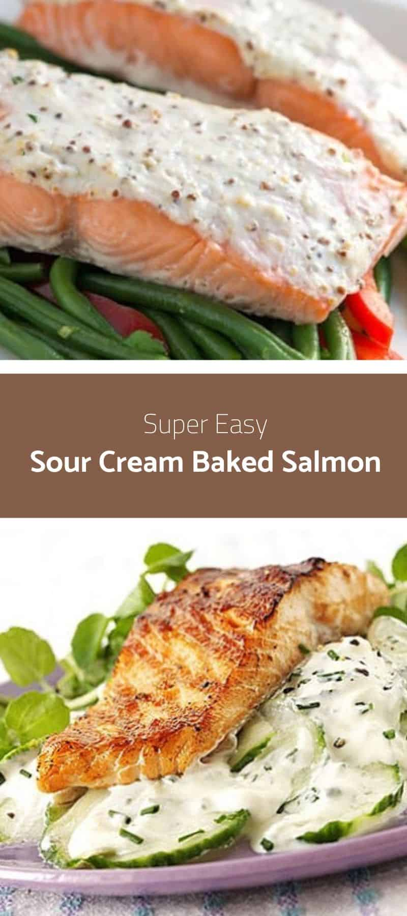 Sour Cream Baked Salmon 3