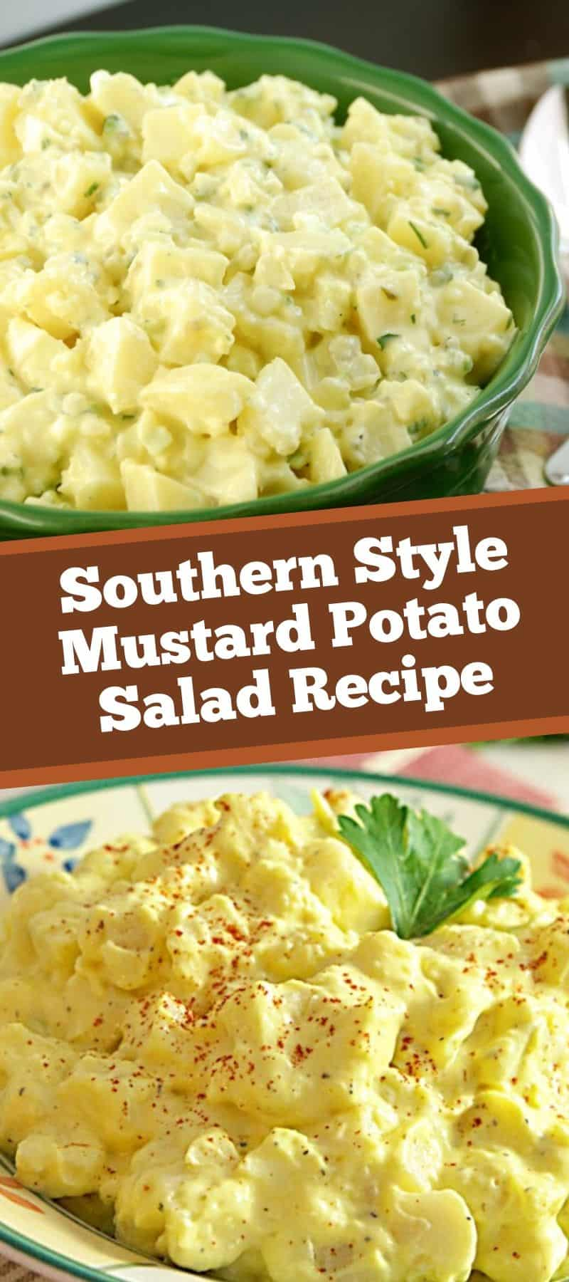 Southern Style Mustard Potato Salad Recipe 3