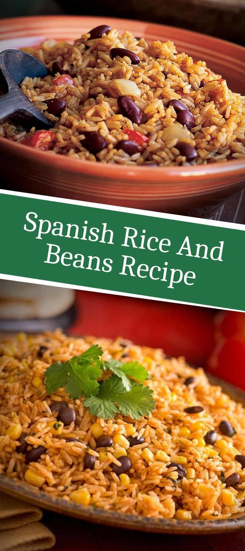 Spanish Rice And Beans Recipe 3