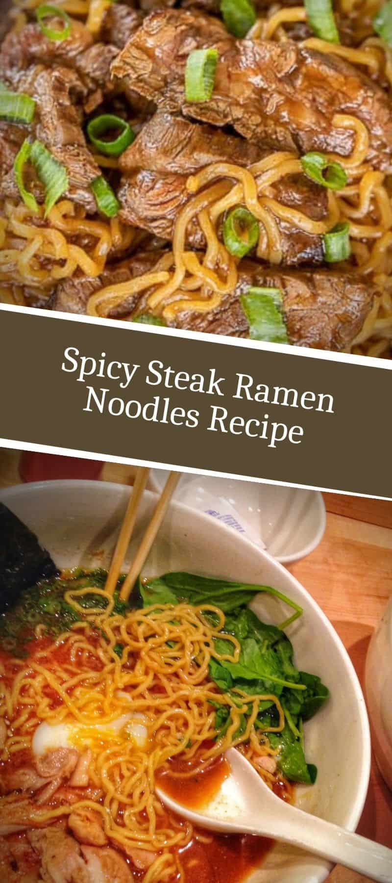 Spicy Steak Ramen Noodles Recipe 3