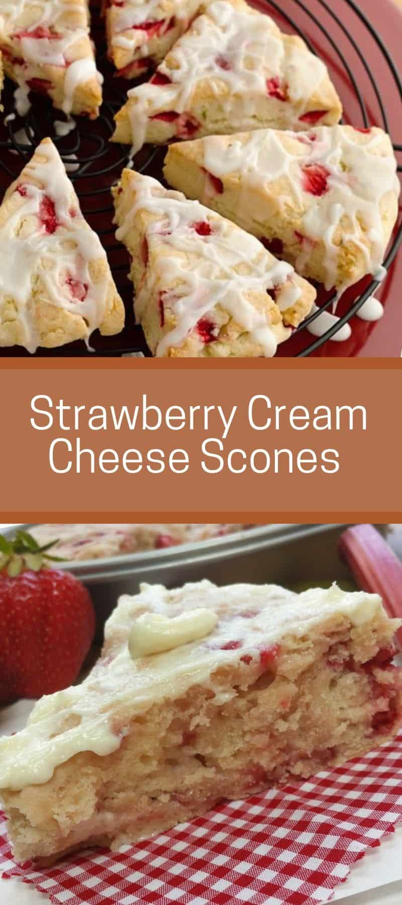 Strawberry Cream Cheese Scones Recipe 3