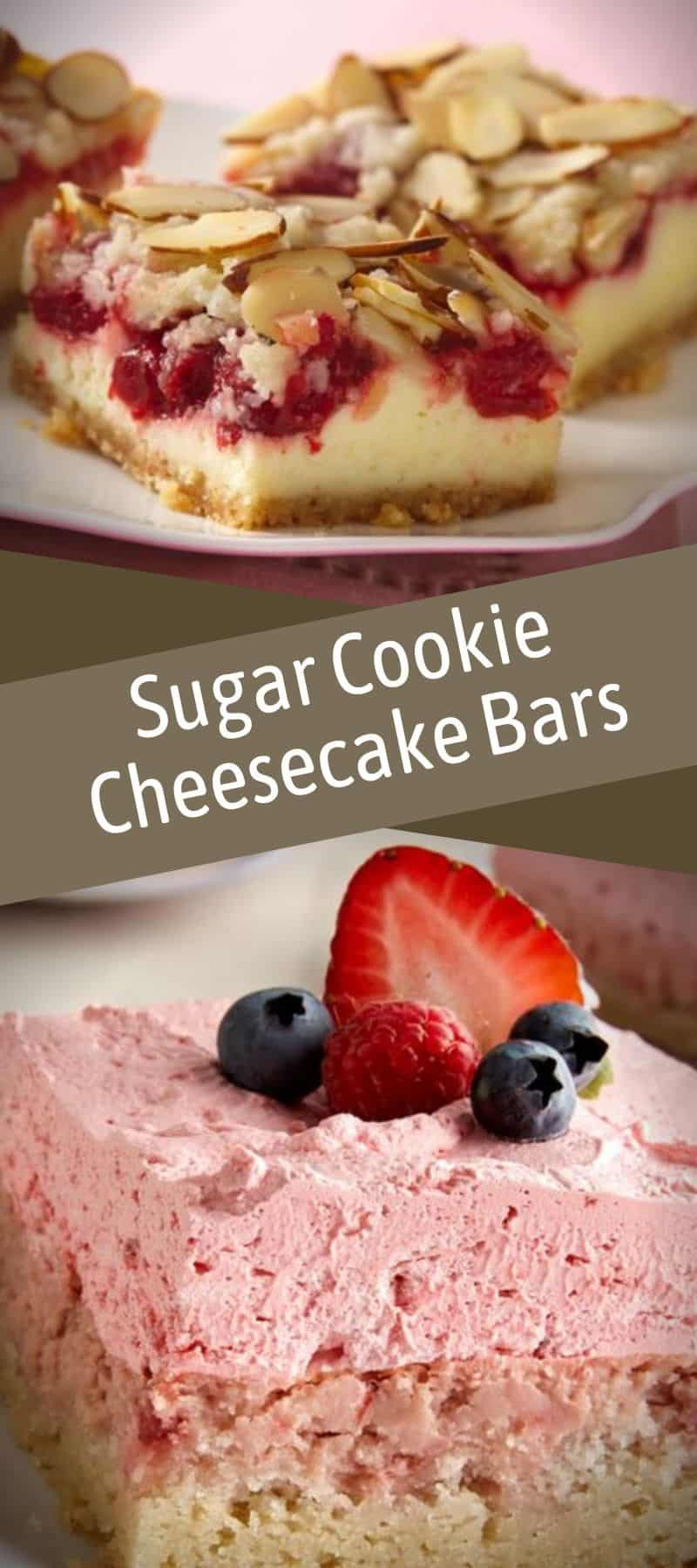 Sugar Cookie Cheesecake Bars Recipe 3