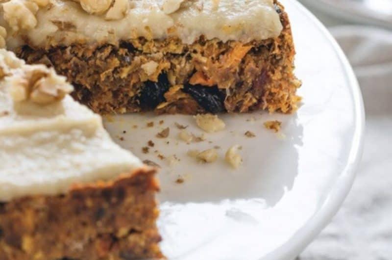 Vegan Gluten-Free Carrot Cake Recipe