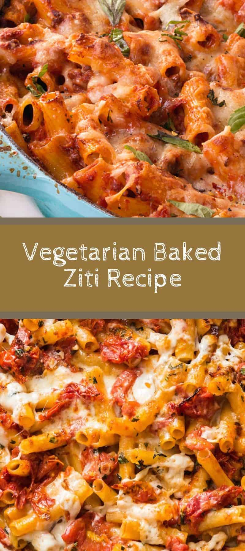 Vegetarian Baked Ziti Recipe 3